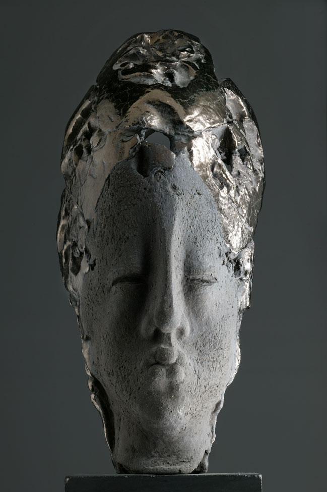 Balinese head h 60 cm